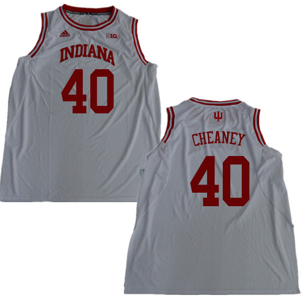 Men #40 Calbert Cheaney Indiana Hoosiers College Basketball Jerseys Sale-White