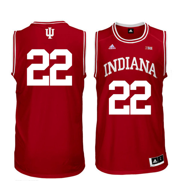 Men Indiana Hoosiers #22 Clifton Moore College Basketball Jerseys Sale-Red